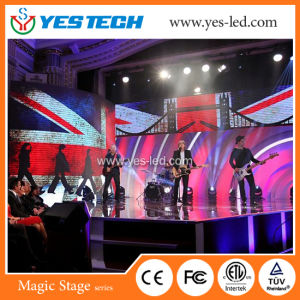Indoor Flexible P3 P4 LED Stage Curtain Screen pictures & photos