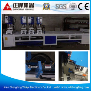 Four Head Seamless Welding Machine for UPVC Window pictures & photos