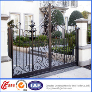 Simple Powder Coated Ornamental Superior Entrance Gates pictures & photos