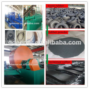 Rubber Powder and Block Producing Line/Waste Tyre Recycling Plant pictures & photos