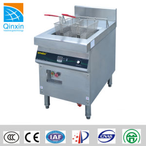 Commercial Electric French Fryer (QX-ZLI) 10kw for Restaurant pictures & photos