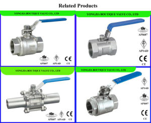 2PCS NPT Forged Ball Valve