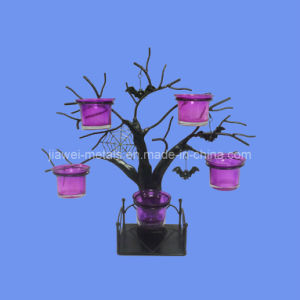 Halloween Tree Candle Holder