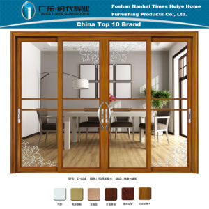 Aluminum/Aluminium Sliding Door for Building Materials pictures & photos
