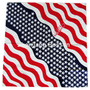 Custom Made Customized Design Printed Promotional Cotton Head Bandana pictures & photos