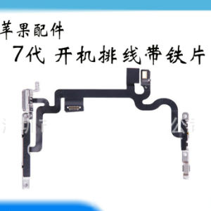 High Quality Power Push Button Switch Sleep Wake Flex Cablehigh Quality Power Push Button Switch Sleep Wake Flex Cable Metal Repl Metal Replacement for iPhone7 pictures & photos