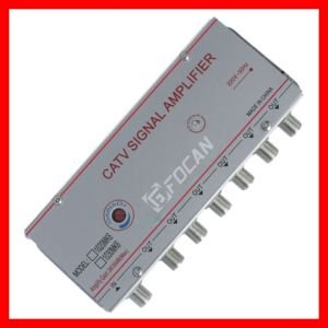 6 Ways CATV Signal Amplifier 20db, 30db pictures & photos