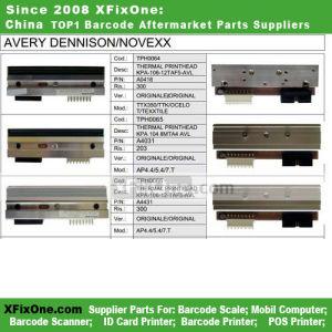 Avery Dennison/Novexx Ttx350/Ttk/Ocelo T Barcode Printer Print Head (KPA-104-8MTA4-AVL)