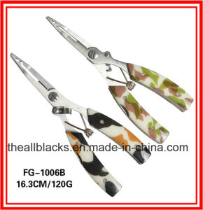 Stainless Steel Pliers; Multi Function Fishing Lure Curved Mouth Pliers-Fishing Tackles Fg-1006b/1006A pictures & photos