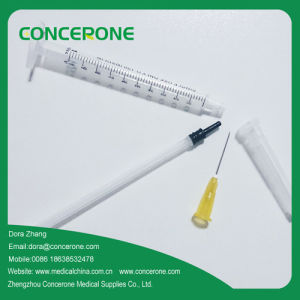 Medical Supply 3 Parts Medical Disposable Sterile Syringe (1mm) pictures & photos