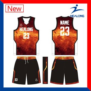 Make Your Own Basketball Jerseys Uniforms Shirts Customized Sublimation pictures & photos