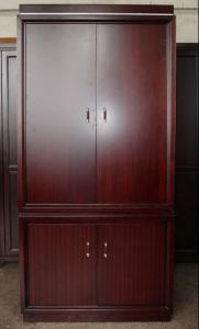 Hotel Bedroom Furniture Sets/Star Hotel Guest Room Wardrobe (GLW-016) pictures & photos