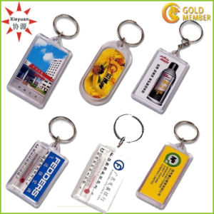 Cheap Custom Plastic Acrylic Keychain Factory pictures & photos