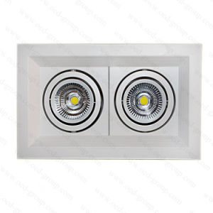 Bridgelux Chip COB LED Grille Down Lights with 3 Years Warranty pictures & photos