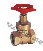 Forged Brass Female Gate Valve pictures & photos