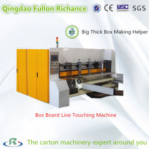 Box Making Machine Paperboard Line Touching Machine for Cardboard Boxes pictures & photos