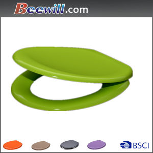 European Classical Green Soft Close UF Toilet Seat Cover pictures & photos