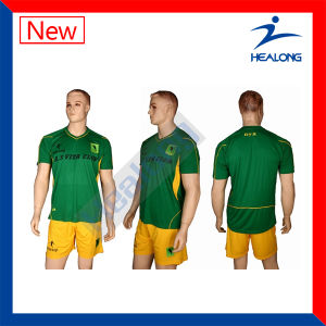 Healong Excellent Cool Max Soccer Jersey pictures & photos