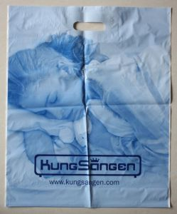 Virgin LDPE Material with Cutom Printed Plastic Bags for Shopping (FLD-8575) pictures & photos