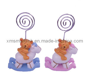 Polyresin Sculpture Bear Card Clip Souvenir Gifts pictures & photos