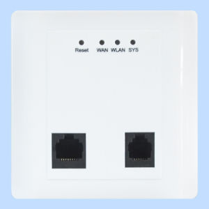 300Mbps in-Wall Panel Wireless Access Point WiFi Cover (TS302F) pictures & photos