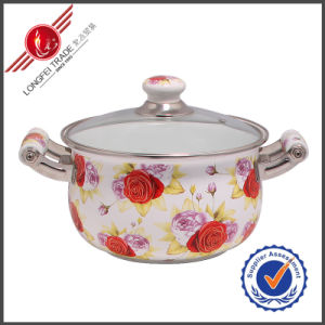Durable Eco-Friendly Enamel Cooking Pot /Kitchenware pictures & photos