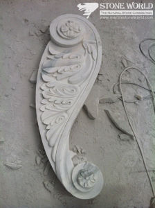 Carrara White Marble Carving for Indoor Decoration (CV039) pictures & photos