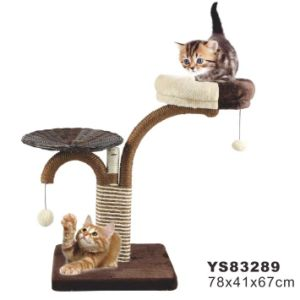 High Quality Cat Scatcher Tree (YS83289) pictures & photos