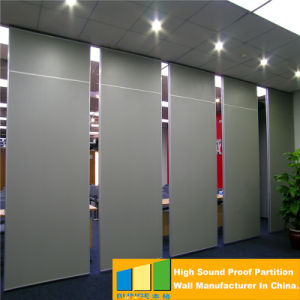 China conference room sliding folding partitions movable for Sliding folding partitions movable walls