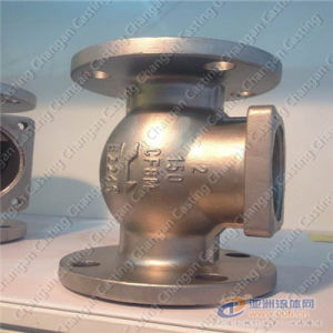 High Precision Stainless Steel 316 Valve Body Casting Part