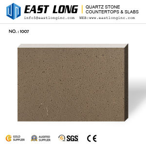 Cheap Pure White/Grey/Beige Quartz Stone Slabs for Vanity Top/Floor Tile/Wall Panel with Building Material/Solid Surface pictures & photos