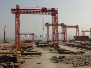 Shipyard Gantry Crane (QME80T-50T-10T-32M-32M) pictures & photos