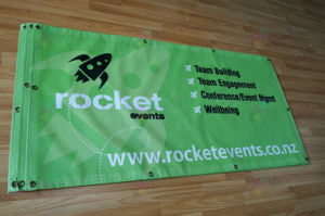 Customized anti-UV Outdoor Advertisement Mesh Banner With Printing pictures & photos