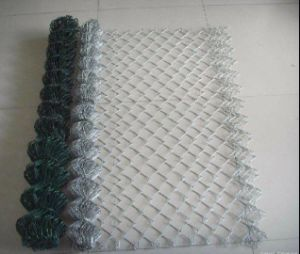 2inch Hole Vinyl Coated Chain Link Fence Mesh in Roll pictures & photos