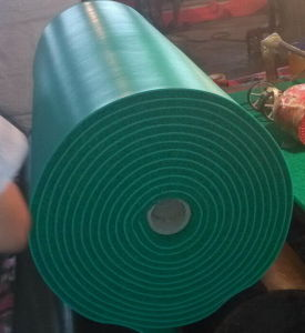 3G 15mm Super Quality Foam Backing PVC Coil Mat pictures & photos