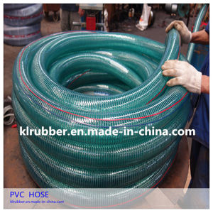 Steel Wire Spiraled PVC Water Suction Hose pictures & photos