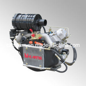 Air-Cooled Two Cylinder Diesel Engine Featured with Silent Generator (2V86F) pictures & photos