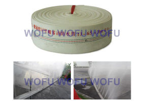 Rubber White Double Jacket Fire Hose pictures & photos
