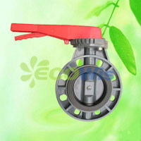 Farm Irrigation PVC Butterfly Valve (Lever Type) pictures & photos