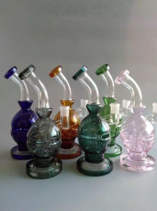 Showerhead Perc Glass Hookah Smoking Pipe pictures & photos