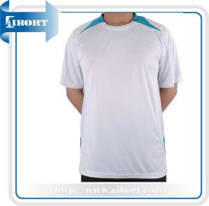 2014 Fancy Mens Round Neck White Tshirt (ATPL-0085)