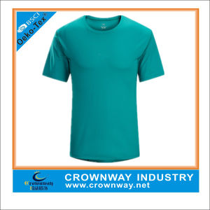 China custom dry fit plain blank running sport shirt for for Custom dry fit shirts