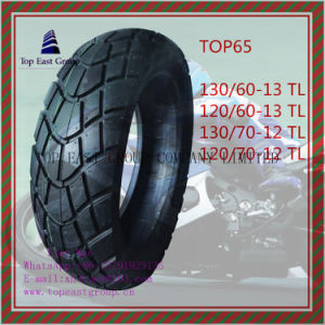 Tubeless, ISO Nylon 6pr Motorcycle Tyre130/60-13tl, 120/60-13tl, 130/70-12tl, 120/70-12tl pictures & photos