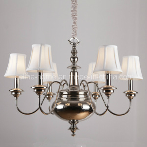 Home Decorative Iron Chandelier with Nickel Finish (SL2093-6) pictures & photos