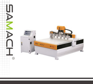 Woodworking Solid Wood CNC Router (R-1618*6) pictures & photos