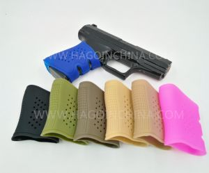 Blue Color Silicone Rubber Gun Grips pictures & photos