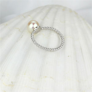 Simple Classical Freshwater Real Lady Pearl Ring pictures & photos