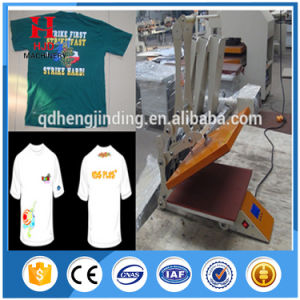 Sublimation Heat Transfer Semi Auto with Magnet Heat Press Machine pictures & photos