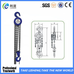 Able Round Hand Tools Manual Sk Chain Block pictures & photos