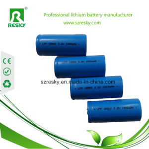 Rechargeable LiFePO4 Batteries 18500 3.2V 1000mAh
